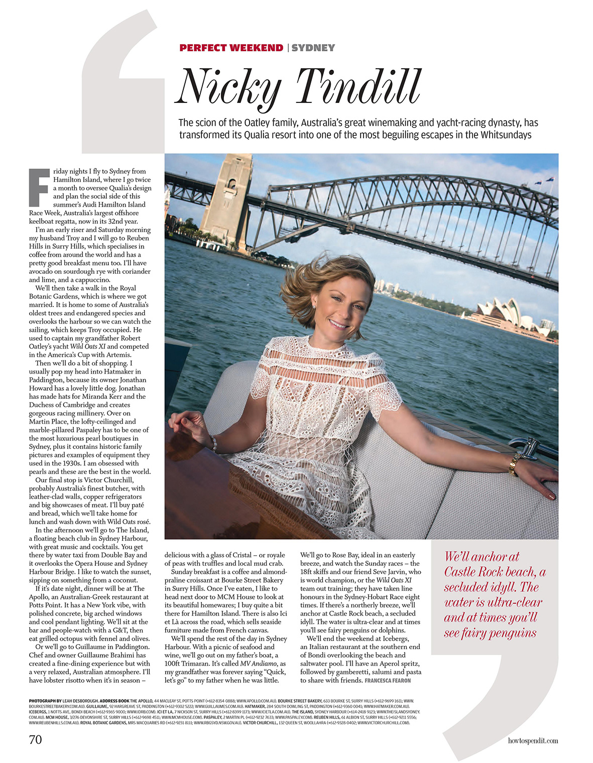 How to Spend It Magazine - Financial Times London   Leah